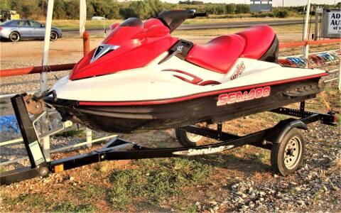 2006 Sea-Doo Sea-Doo for sale at Advantage Auto Sales in Wichita Falls TX