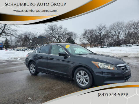 2011 Honda Accord for sale at Schaumburg Auto Group in Schaumburg IL