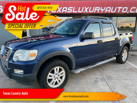 2007 Ford Explorer Sport Trac for sale at Texas Luxury Auto in Cedar Hill TX