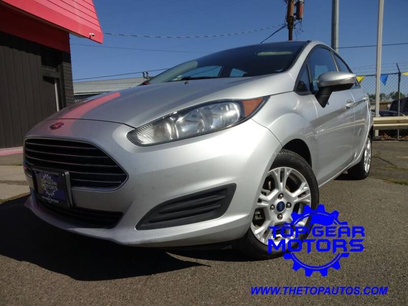 2016 Ford Fiesta for sale at Top Gear Motors in Union Gap WA