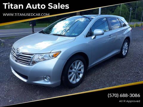 2011 Toyota Venza for sale at Titan Auto Sales in Berwick PA