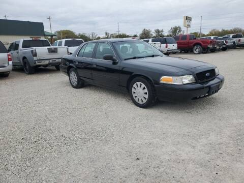 2010 Ford Crown Victoria for sale at Frieling Auto Sales in Manhattan KS
