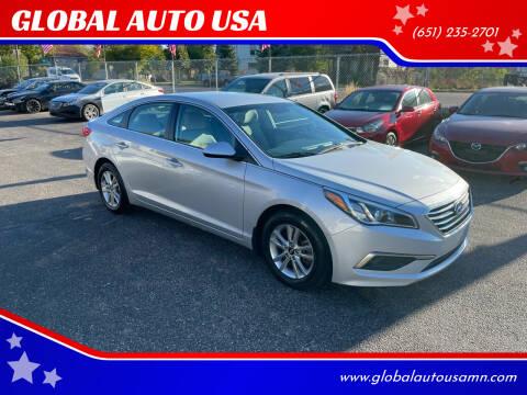 2016 Hyundai Sonata for sale at GLOBAL AUTO USA in Saint Paul MN