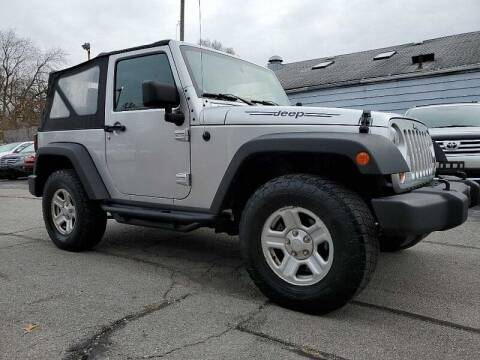 2011 Jeep Wrangler for sale at CItywide Auto Credit in Oregon OH