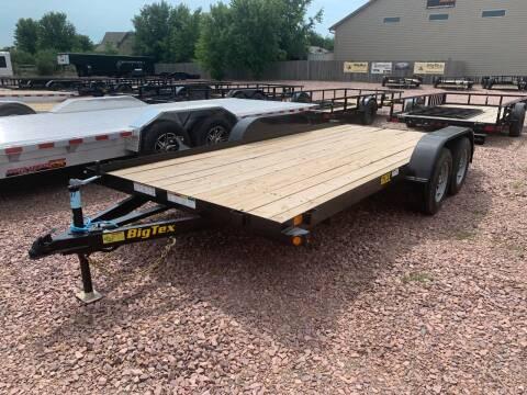 2021 Big Tex 60EC-16 #0208 for sale at Prairie Wind Trailers, LLC in Harrisburg SD