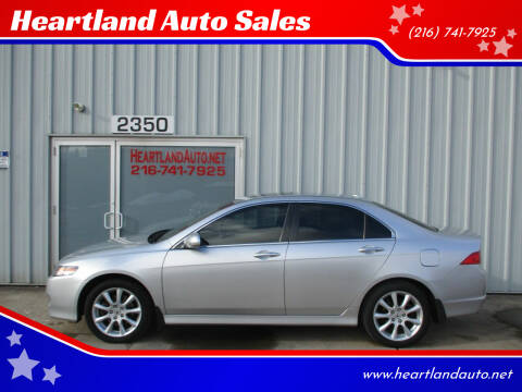 2008 Acura TSX for sale at Heartland Auto Sales in Medina OH