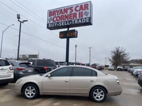 2005 Nissan Altima for sale at Bryans Car Corner in Chickasha OK