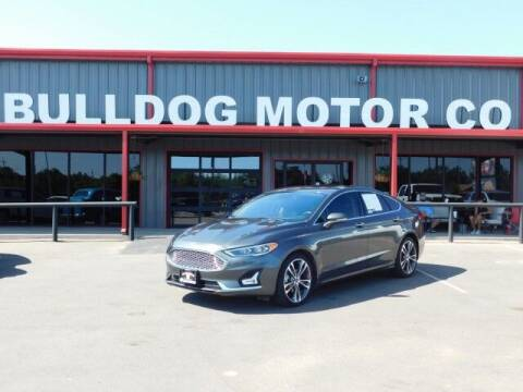 2019 Ford Fusion for sale at Bulldog Motor Company in Borger TX