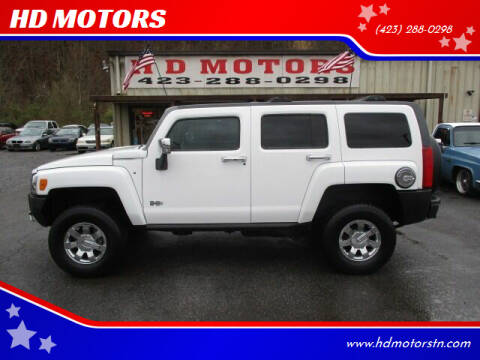 2008 HUMMER H3 for sale at HD MOTORS in Kingsport TN