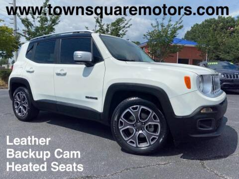 2016 Jeep Renegade for sale at Town Square Motors in Lawrenceville GA