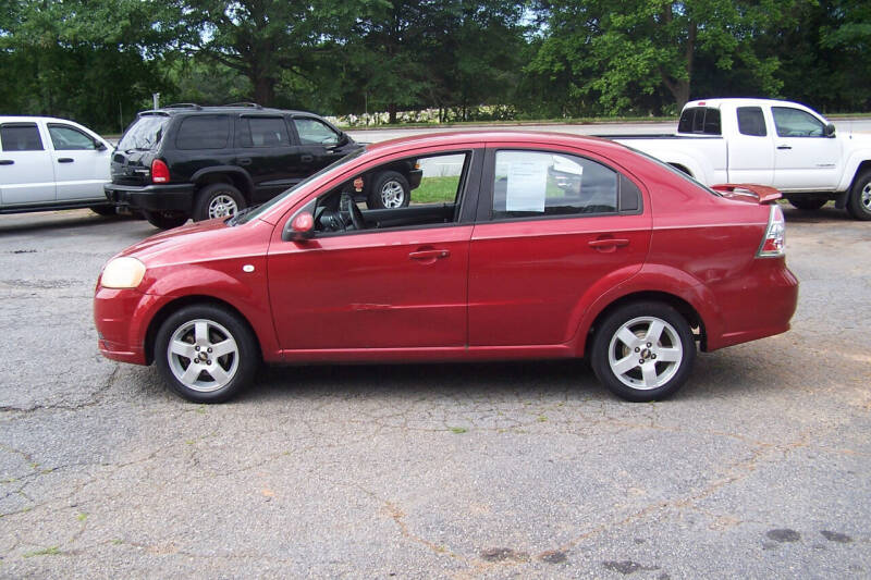 2007 Chevrolet Aveo LT 4dr Sedan - Union SC