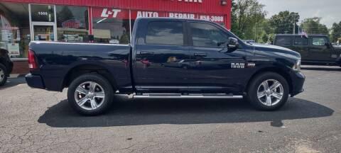 2017 RAM Ram Pickup 1500 for sale at L&T Auto Sales in Three Rivers MI
