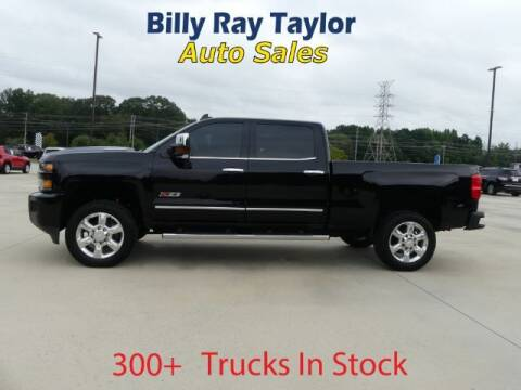 2018 Chevrolet Silverado 2500HD for sale at Billy Ray Taylor Auto Sales in Cullman AL