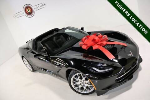 2019 Chevrolet Corvette for sale at Unlimited Motors in Fishers IN