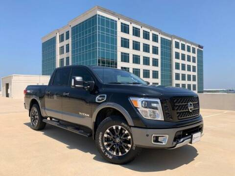 2017 Nissan Titan for sale at SIGNATURE Sales & Consignment in Austin TX