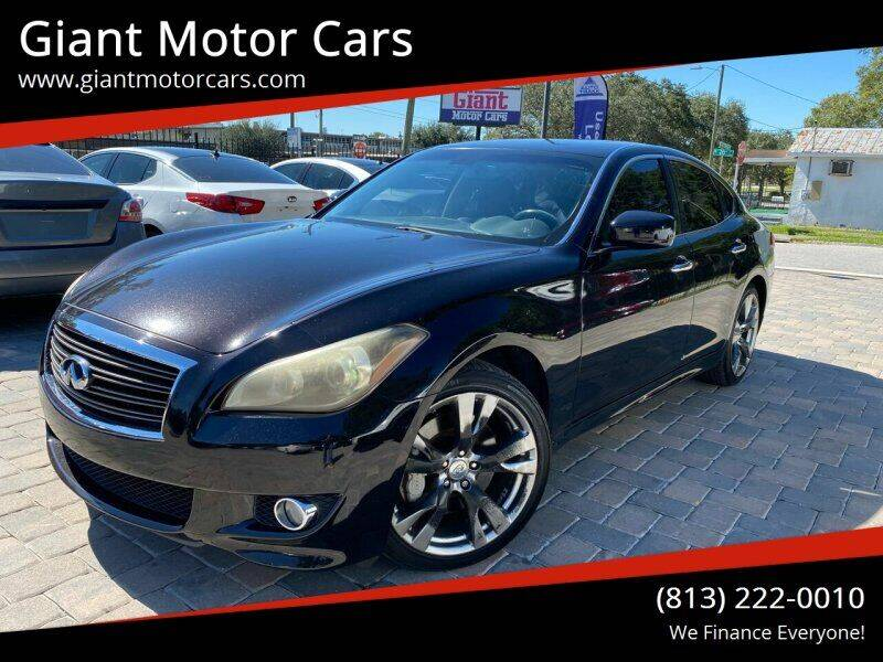 2011 Infiniti M37 for sale at Giant Motor Cars in Tampa FL