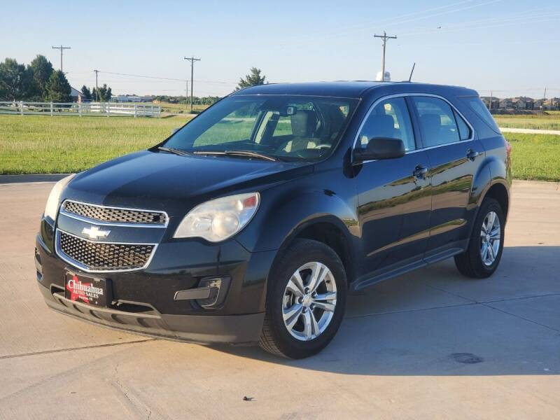 2015 Chevrolet Equinox for sale at Chihuahua Auto Sales in Perryton TX