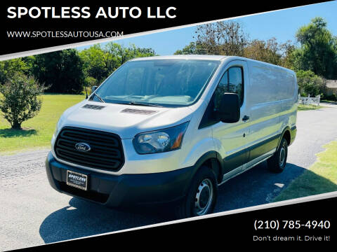 2015 Ford Transit Cargo for sale at SPOTLESS AUTO LLC in San Antonio TX
