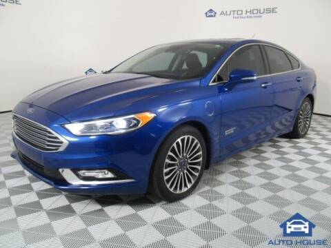 2017 Ford Fusion Energi for sale at Autos by Jeff Tempe in Tempe AZ