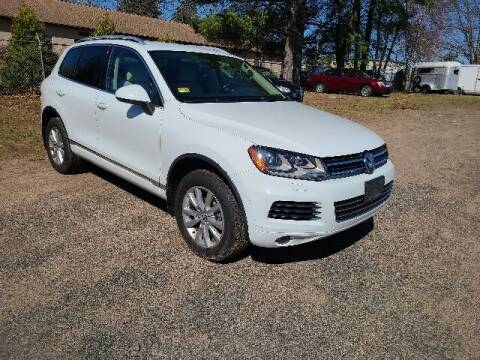 2014 Volkswagen Touareg for sale at BETTER BUYS AUTO INC in East Windsor CT
