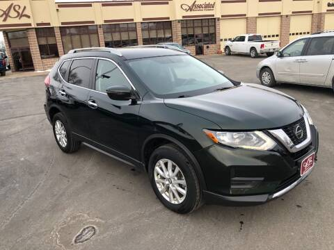2018 Nissan Rogue for sale at ASSOCIATED SALES & LEASING in Marshfield WI