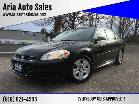 2010 Chevrolet Impala for sale at ARIA  AUTO  SALES in Raleigh NC