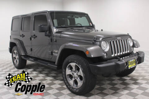 2017 Jeep Wrangler Unlimited for sale at Copple Chevrolet GMC Inc in Louisville NE
