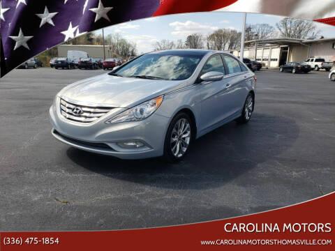 2012 Hyundai Sonata for sale at CAROLINA MOTORS in Thomasville NC