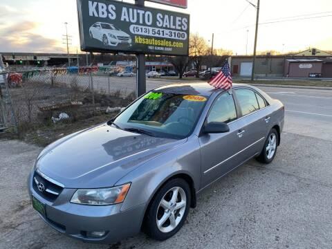 2008 Hyundai Sonata for sale at KBS Auto Sales in Cincinnati OH