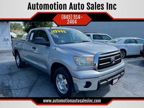 2010 Toyota Tundra for sale at Automotion Auto Sales Inc in Kingston NY