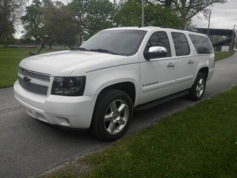 2008 Chevrolet Suburban for sale at Clark Chevrolet Sales Inc in Cayuga IN