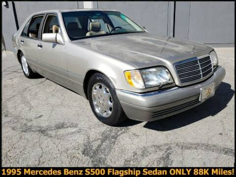 1995 Mercedes-Benz S-Class for sale at Classic Car Deals in Cadillac MI