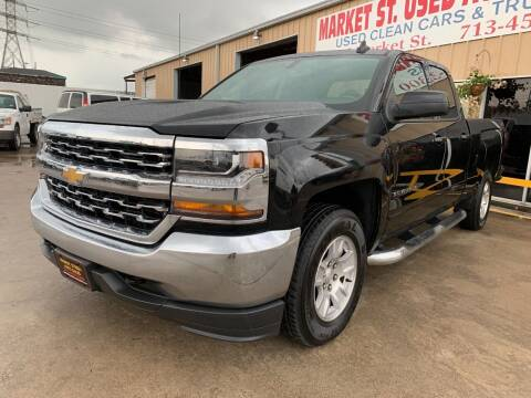 2019 Chevrolet Silverado 1500 LD for sale at Market Street Auto Sales INC in Houston TX