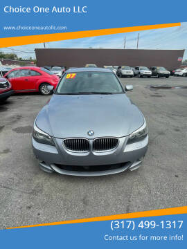 2007 BMW 5 Series for sale at Choice One Auto LLC in Beech Grove IN