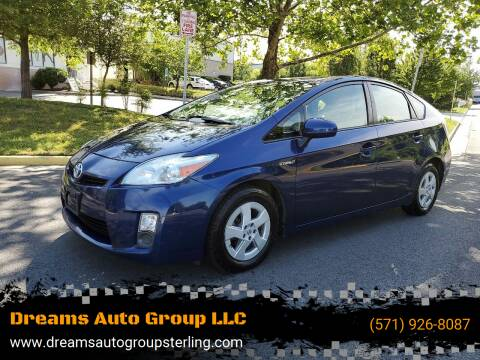 2010 Toyota Prius for sale at Dreams Auto Group LLC in Sterling VA
