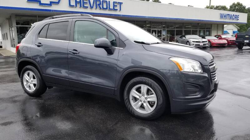2016 Chevrolet Trax for sale at Whitmore Chevrolet in West Point VA