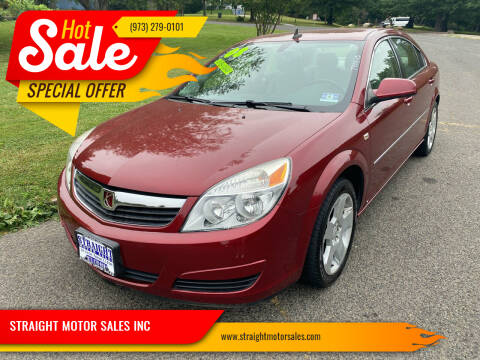 2008 Saturn Aura for sale at STRAIGHT MOTOR SALES INC in Paterson NJ