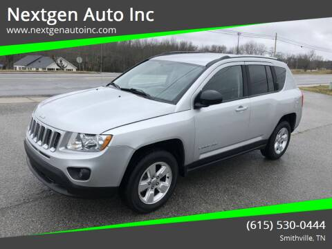 2013 Jeep Compass for sale at Nextgen Auto Inc in Smithville TN
