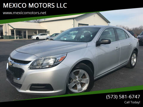 2015 Chevrolet Malibu for sale at MEXICO MOTORS LLC in Mexico MO