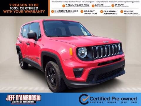 2019 Jeep Renegade for sale at Jeff D'Ambrosio Auto Group in Downingtown PA