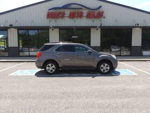 2010 Chevrolet Equinox for sale at DOUG'S AUTO SALES INC in Pleasant View TN