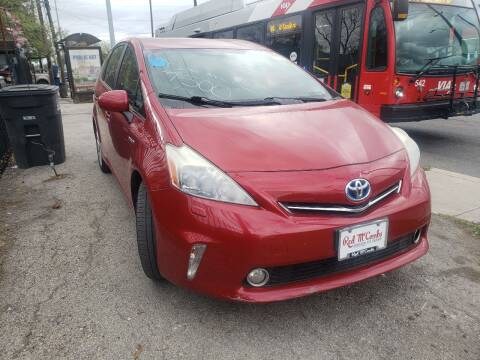 2012 Toyota Prius v for sale at C.J. AUTO SALES llc. in San Antonio TX