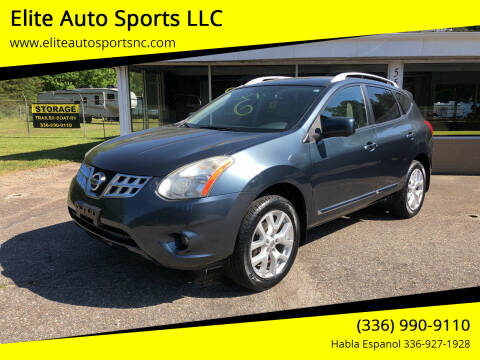 2012 Nissan Rogue for sale at Elite Auto Sports LLC in Wilkesboro NC