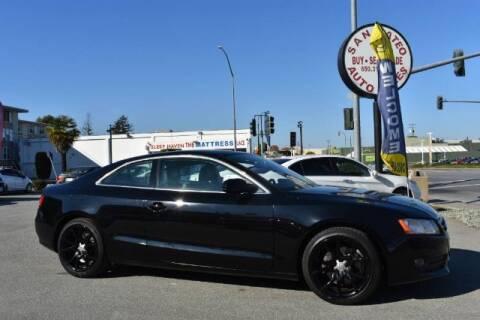 2011 Audi A5 for sale at San Mateo Auto Sales in San Mateo CA