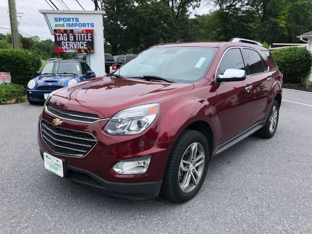 2017 Chevrolet Equinox for sale in Pasadena, MD