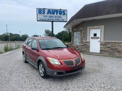 2006 Pontiac Vibe for sale at 83 Autos in York PA
