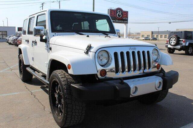 2011 Jeep Wrangler Unlimited for sale at B & B Car Co Inc. in Clinton Twp MI