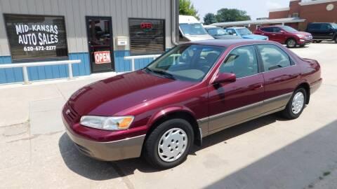 1998 Toyota Camry for sale at Mid Kansas Auto Sales in Pratt KS