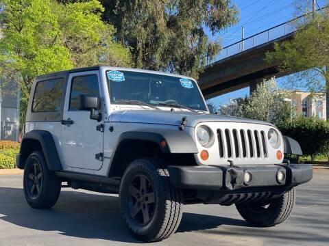 2007 Jeep Wrangler for sale at AutoAffari LLC in Sacramento CA