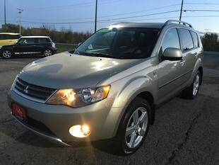 2007 Mitsubishi Outlander for sale at FUSION AUTO SALES in Spencerport NY